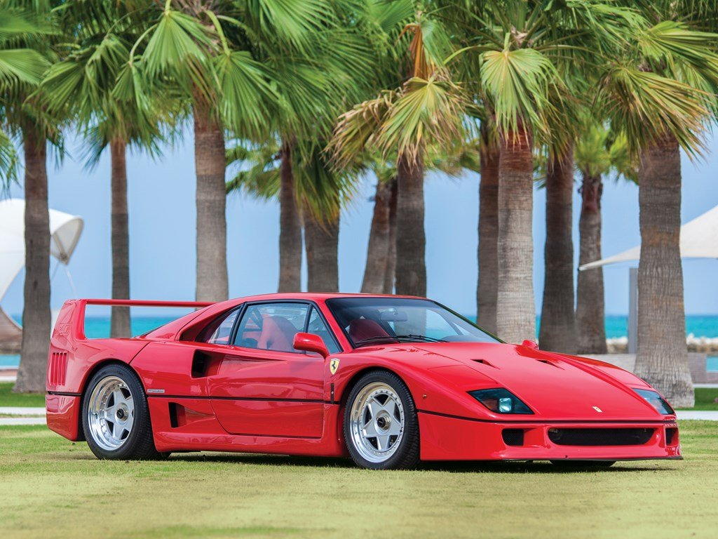 1990 Ferrari F40  For Sale by Auction (picture 1 of 6)