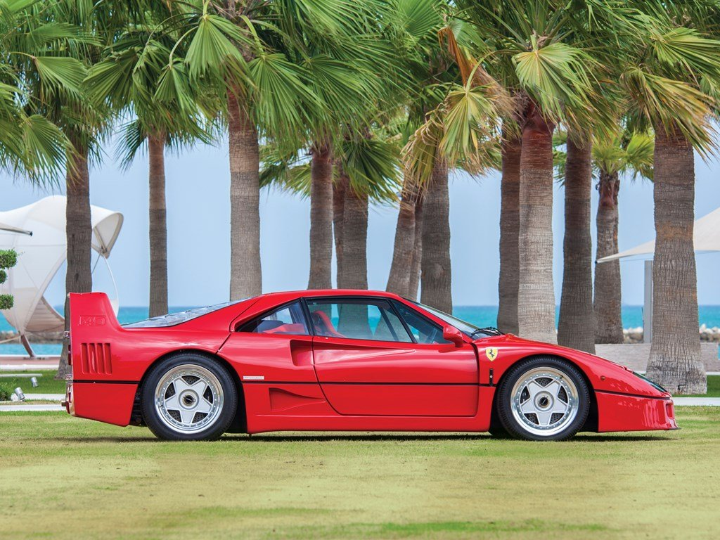 1990 Ferrari F40  For Sale by Auction (picture 5 of 6)