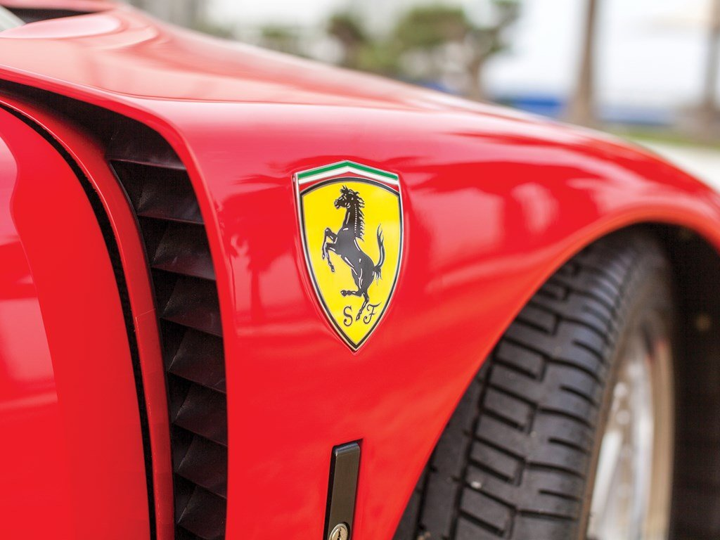1990 Ferrari F40  For Sale by Auction (picture 6 of 6)