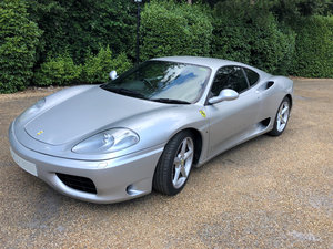2002 Ferrari 360 Modena manual-27,000 miles For Sale