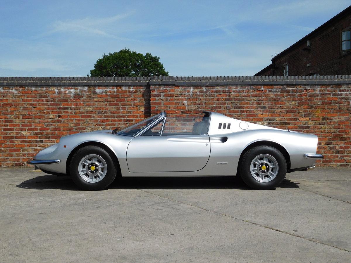 1972 Ferrari 246 GTS Classiche Certificated RHD For Sale (picture 1 of 6)
