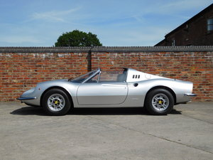 1972 Ferrari 246 GTS Classiche Certificated RHD For Sale