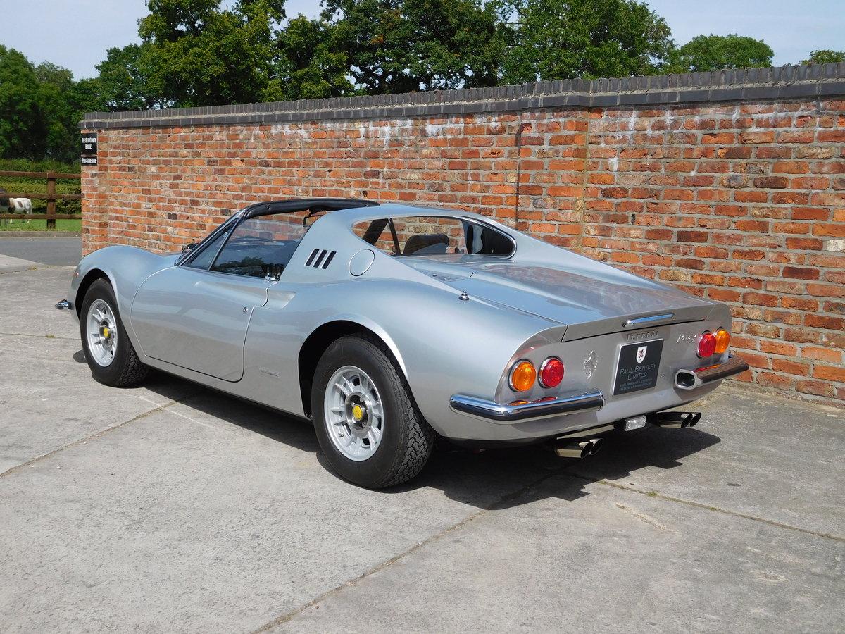 1972 Ferrari 246 GTS Classiche Certificated RHD For Sale (picture 3 of 6)