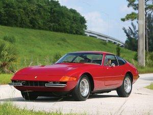 1972 Ferrari 365 GTB4 Daytona Berlinetta by Scaglietti For Sale by Auction
