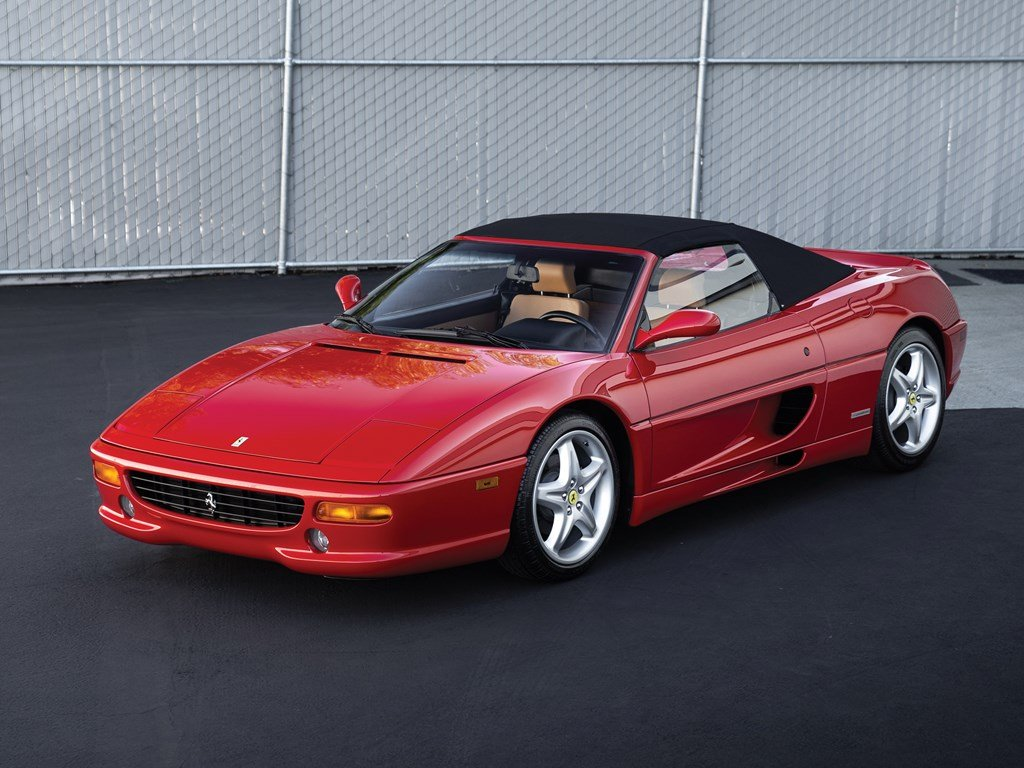 1997 Ferrari F355 Spider  For Sale by Auction (picture 1 of 6)