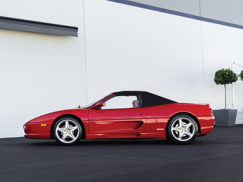 1997 Ferrari F355 Spider  For Sale by Auction (picture 5 of 6)