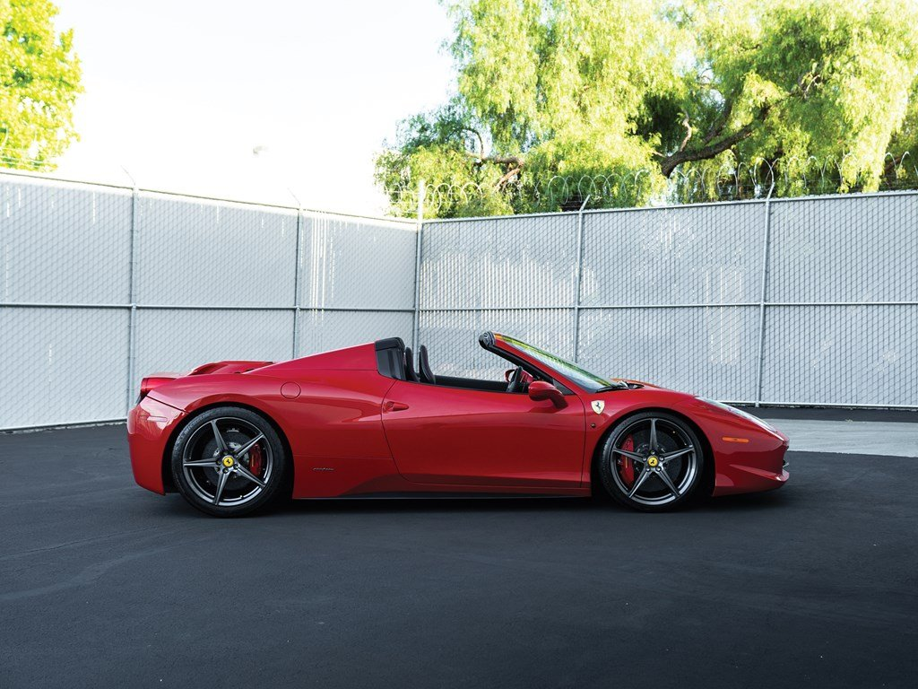 2013 Ferrari 458 Spider  For Sale by Auction (picture 5 of 6)