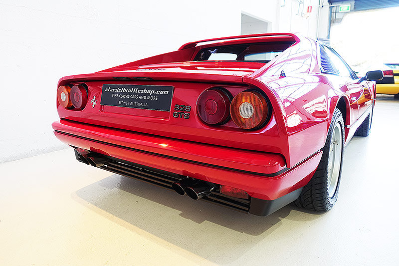 1987 Ferrari 328 GTS, orig. RHD, low mileage, immaculate SOLD (picture 2 of 6)