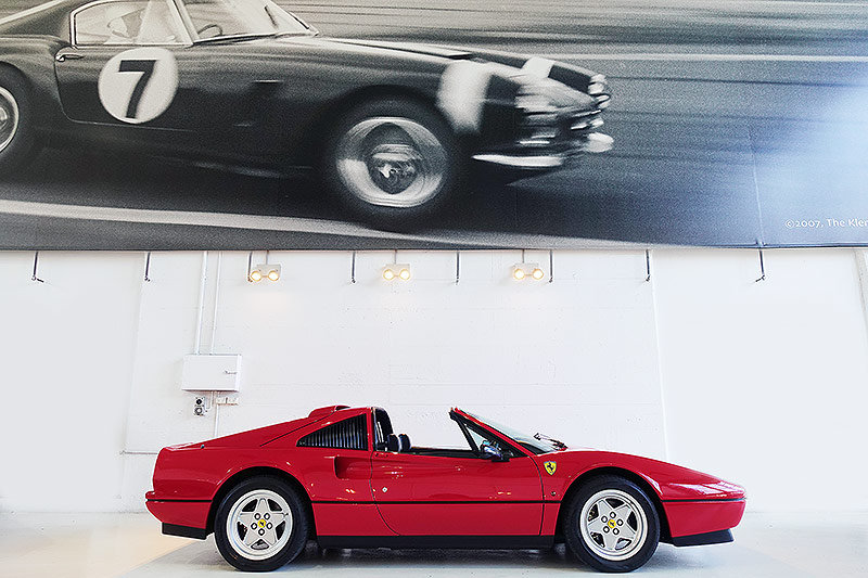 1987 Ferrari 328 GTS, orig. RHD, low mileage, immaculate SOLD (picture 3 of 6)