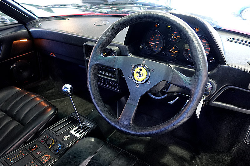 1987 Ferrari 328 GTS, orig. RHD, low mileage, immaculate SOLD (picture 6 of 6)