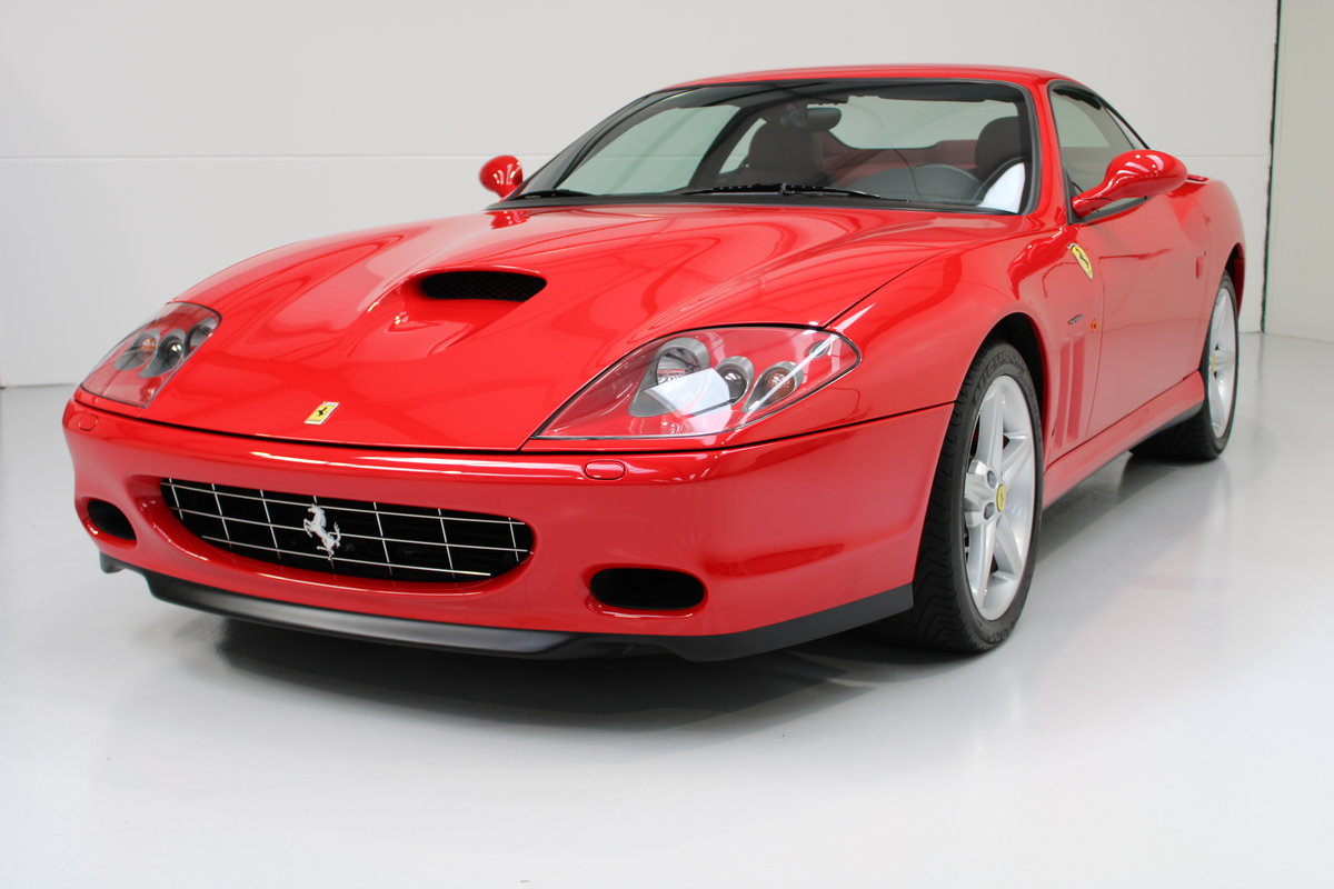 2005 Ferrari 575M Only 3,225 km Original & Documented For Sale (picture 1 of 6)