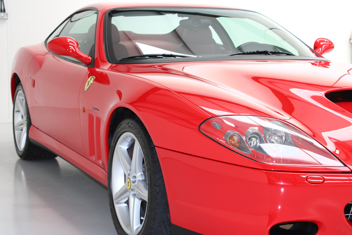 2005 Ferrari 575M Only 3,225 km Original & Documented For Sale (picture 3 of 6)