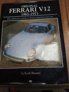Original Ferrari V12 book 1965-1973