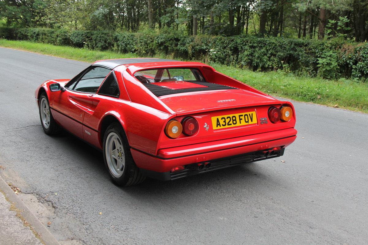 1988 Ferrari 328 GTS - UK Car, 40k miles FSH, recent clutch/belts For Sale (picture 4 of 12)