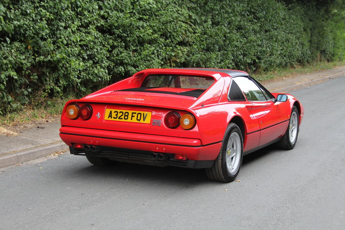 1988 Ferrari 328 GTS - UK Car, 40k miles FSH, recent clutch/belts For Sale (picture 5 of 12)