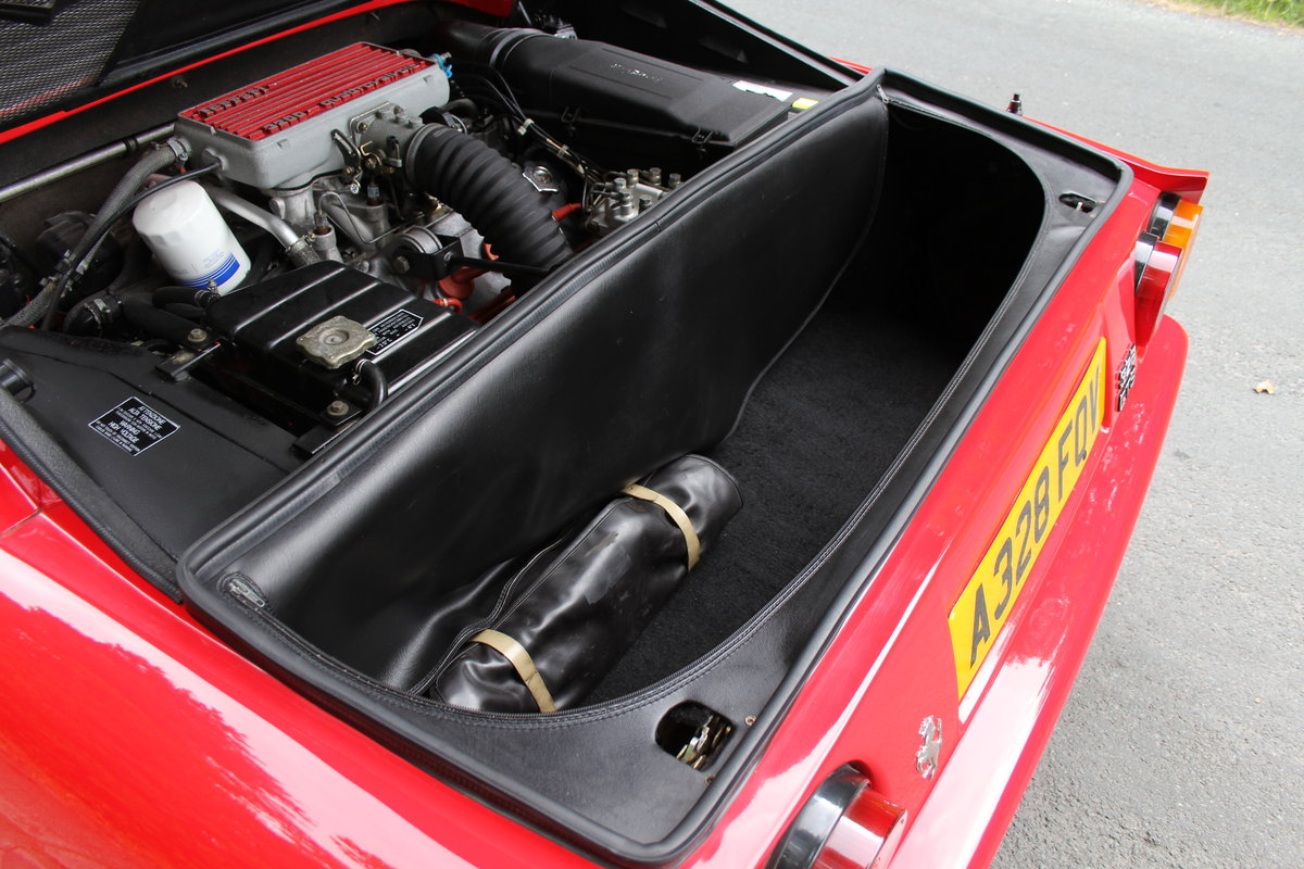 1988 Ferrari 328 GTS - UK Car, 40k miles FSH, recent clutch/belts For Sale (picture 12 of 12)