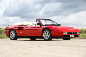1990 Ferrari Mondial Cabriolet Just £35,000 - £40,000 For Sale by Auction