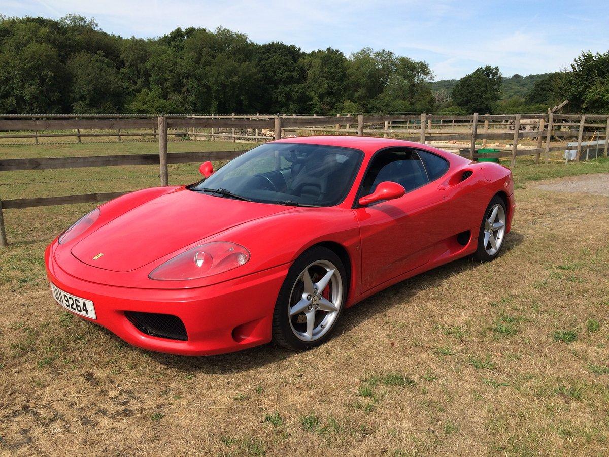2000 Ferrari 360 Modena  For Sale (picture 1 of 6)