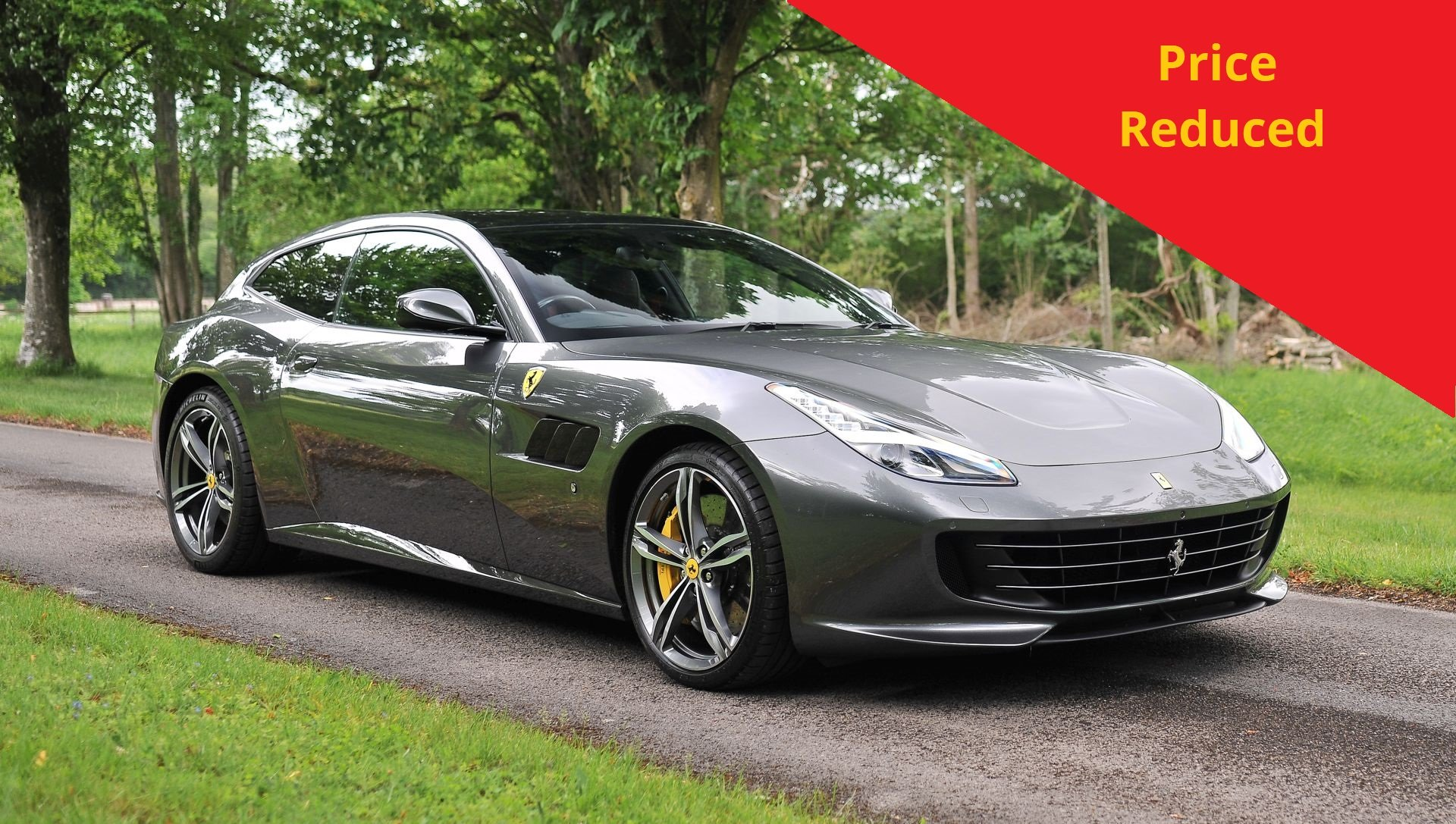 2017 Ferrari GTC4 Lusso 6.3 V12 with only 5821 miles SOLD (picture 1 of 6)