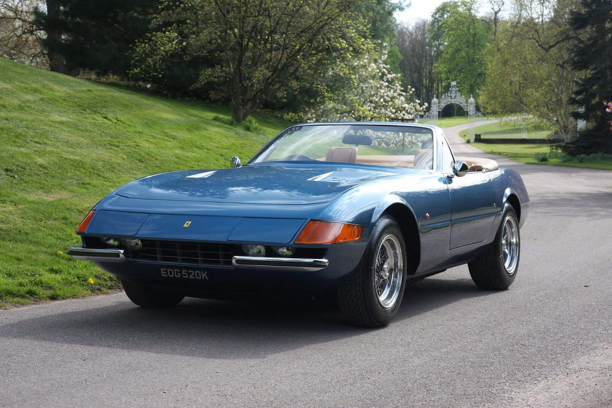 1972 Stunning Daytona Spider Conversion 8k miles from new For Sale (picture 2 of 6)