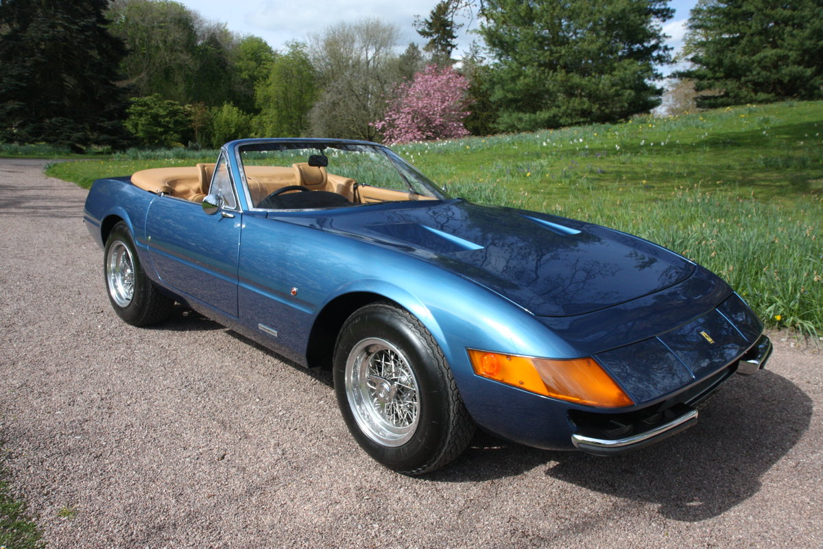 1972 Stunning Daytona Spider Conversion 8k miles from new For Sale (picture 3 of 6)