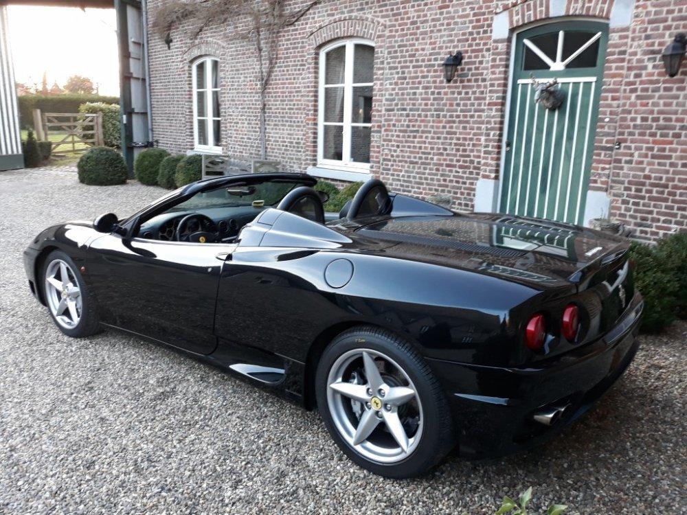 2002 Ferrari 360 Modena F1 Spider For Sale (picture 3 of 6)