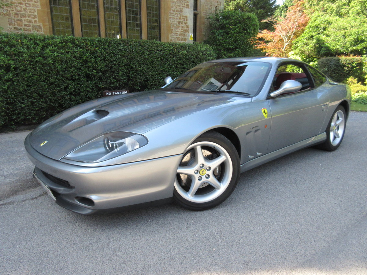1998 SOLD-ANOTHER KEENLY REQUIRED Ferrari 550 Maranello For Sale (picture 1 of 6)