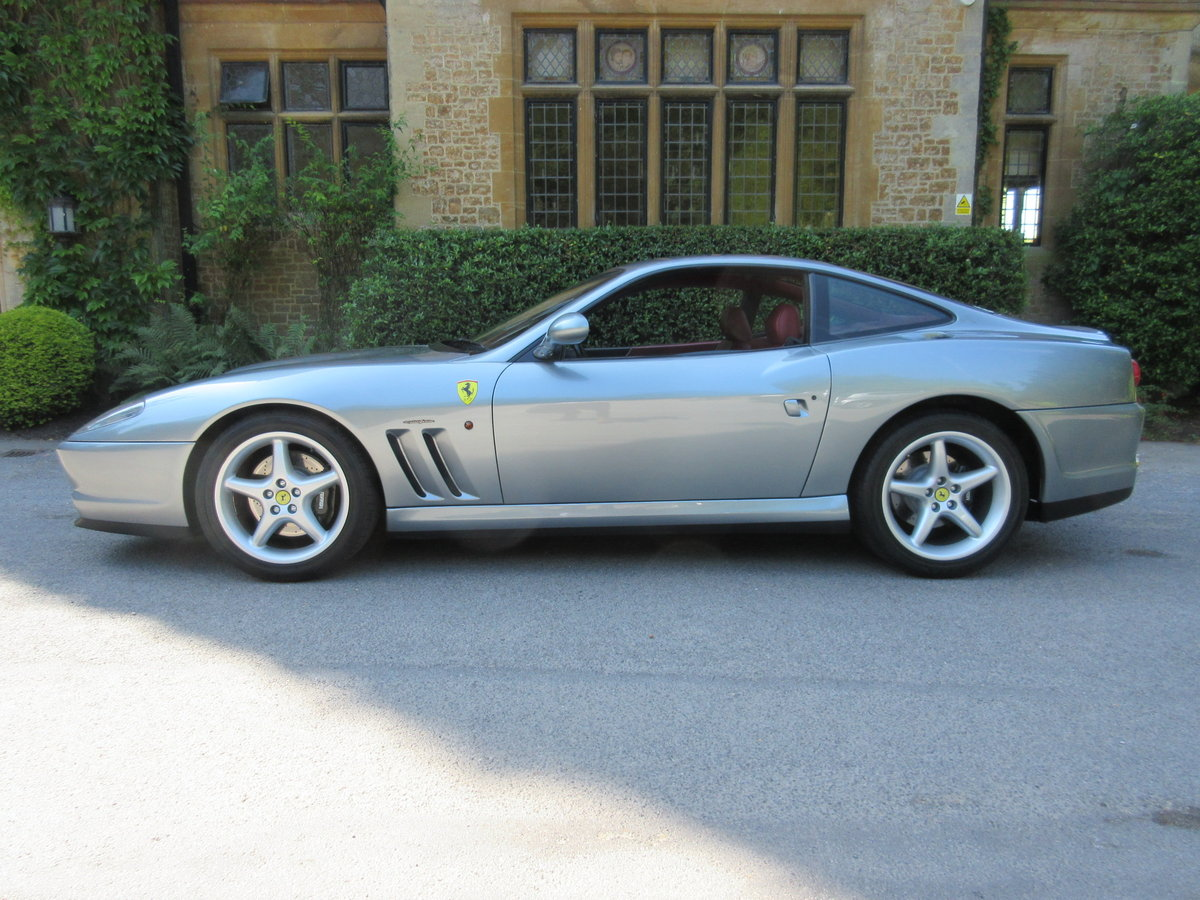1998 SOLD-ANOTHER KEENLY REQUIRED Ferrari 550 Maranello For Sale (picture 2 of 6)