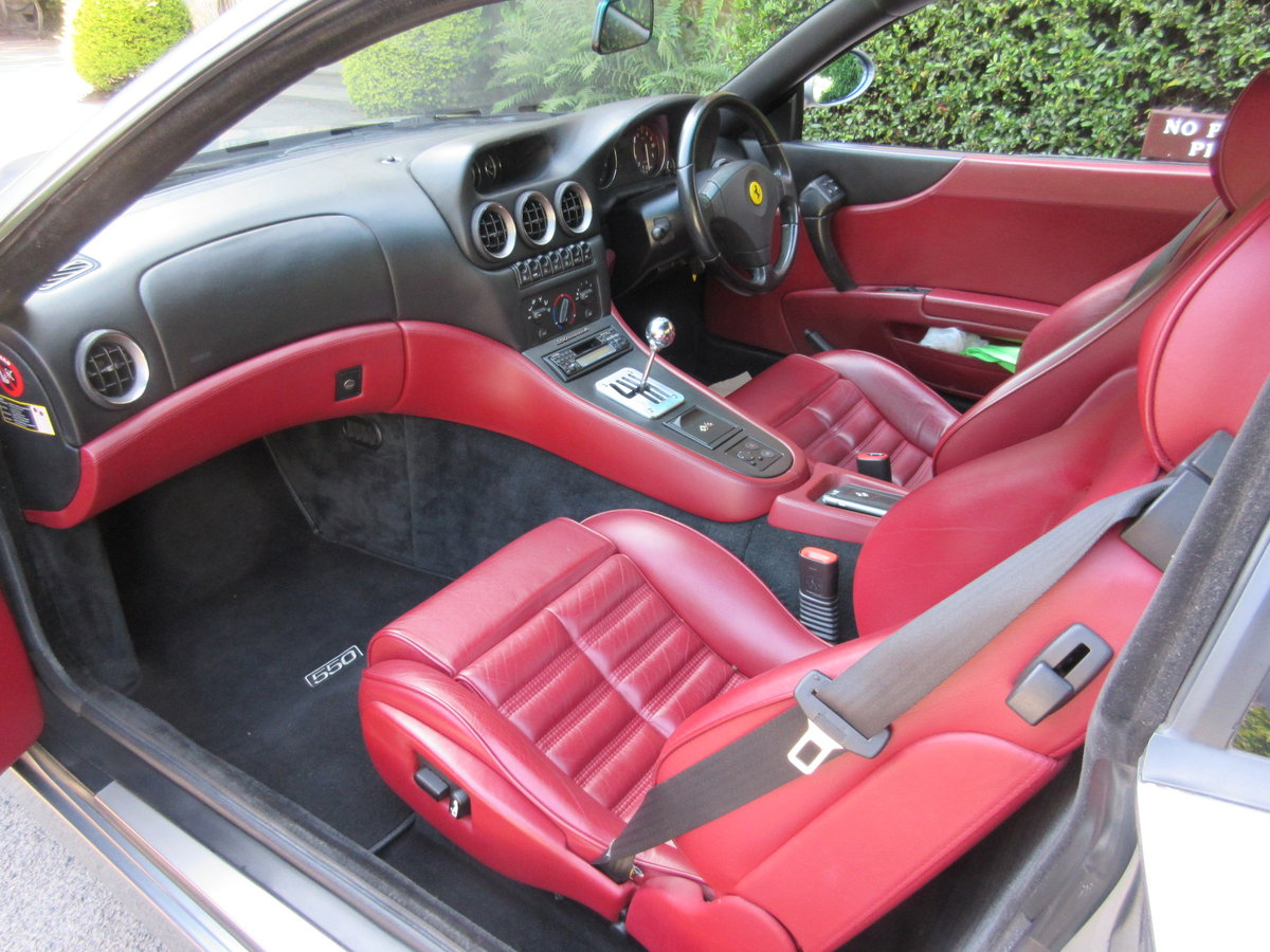 1998 SOLD-ANOTHER KEENLY REQUIRED Ferrari 550 Maranello For Sale (picture 3 of 6)