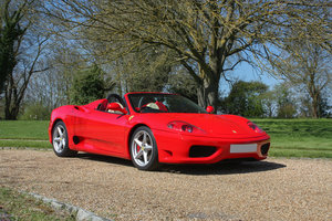 Picture of 2002 Ferrari 360 Spider Manual  SOLD
