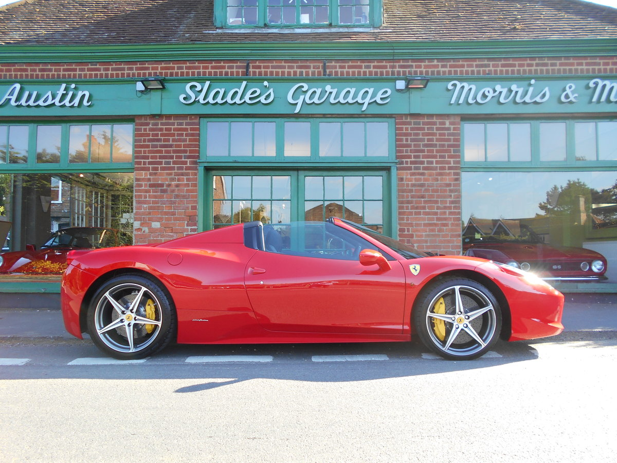 2013 Ferrari 458 Spider DCT SOLD (picture 1 of 5)