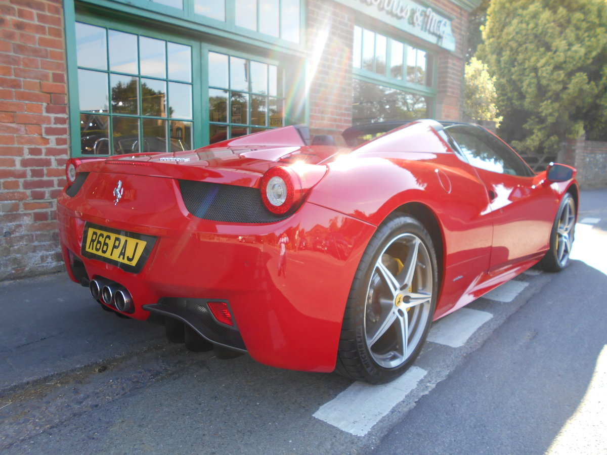 2013 Ferrari 458 Spider DCT SOLD (picture 3 of 5)