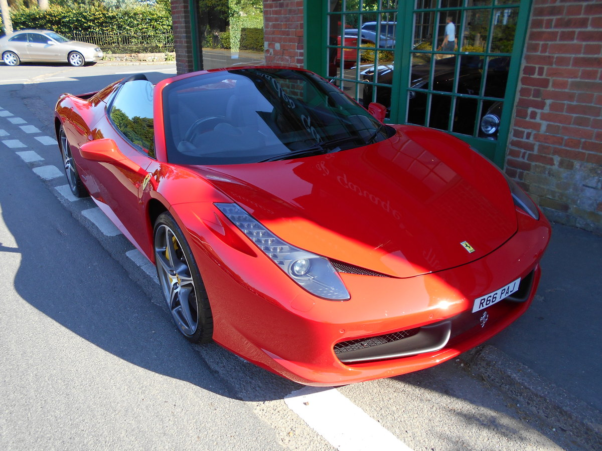 2013 Ferrari 458 Spider DCT SOLD (picture 4 of 5)