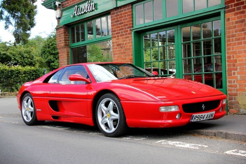 1997 Ferrari 355 GTB Coupe Manual  For Sale (picture 2 of 4)