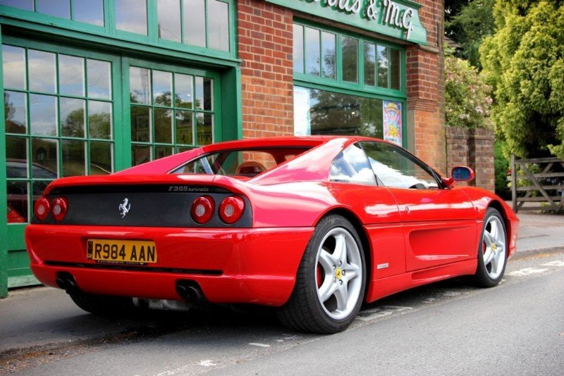 1997 Ferrari 355 GTB Coupe Manual  For Sale (picture 3 of 4)