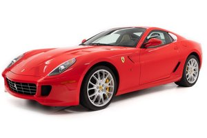 2009 Ferrari 599 GTB Fiorano Coupe = Manual Red $239.5k For Sale