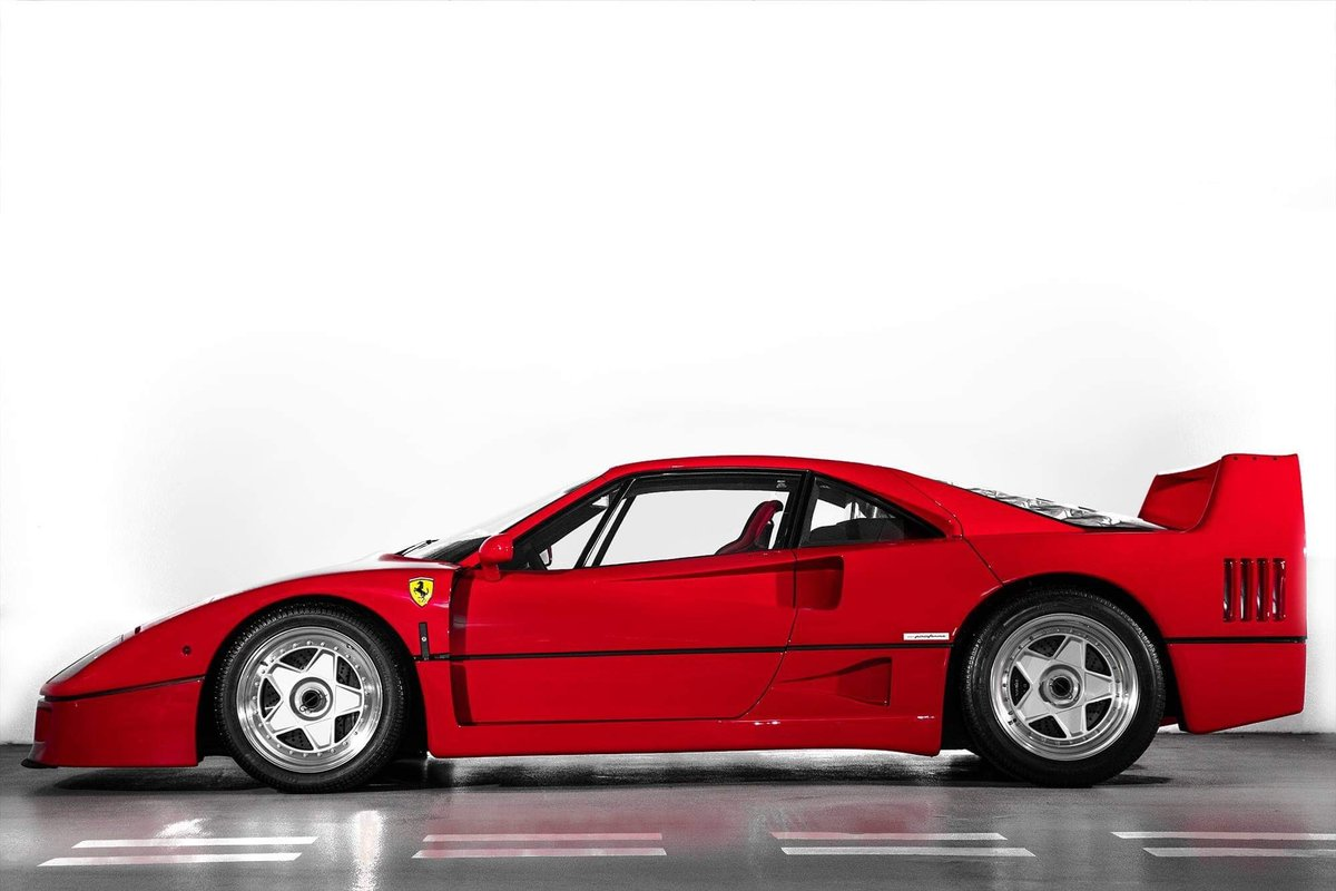 1991 Ferrari F40 Ex Pierluigi Martini  For Sale (picture 7 of 24)