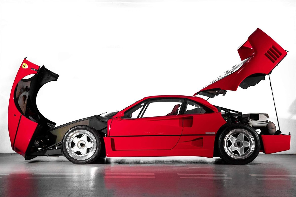 1991 Ferrari F40 Ex Pierluigi Martini  For Sale (picture 8 of 24)