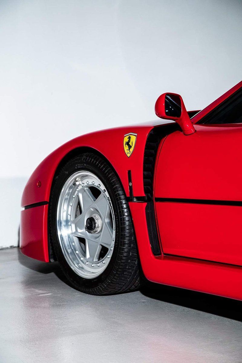 1991 Ferrari F40 Ex Pierluigi Martini  For Sale (picture 9 of 24)