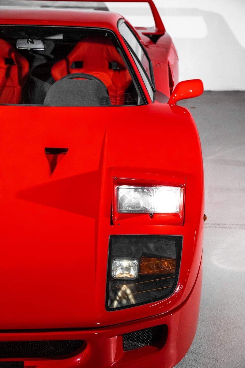 1991 Ferrari F40 Ex Pierluigi Martini SOLD (picture 12 of 24)