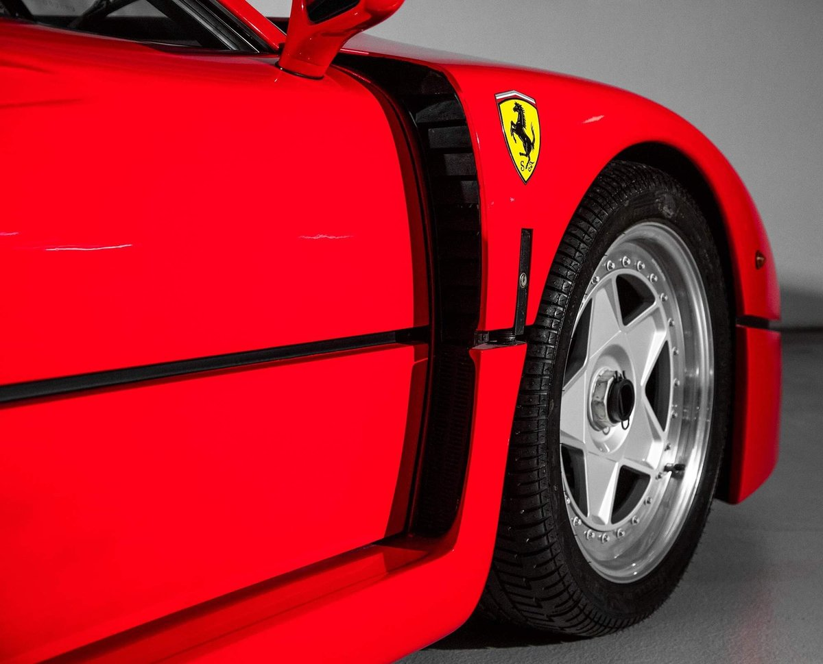 1991 Ferrari F40 Ex Pierluigi Martini  For Sale (picture 17 of 24)