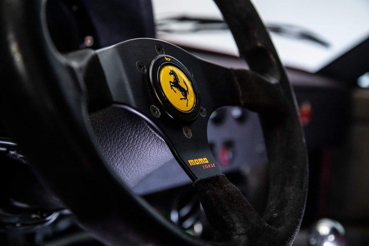 1991 Ferrari F40 Ex Pierluigi Martini SOLD (picture 21 of 24)