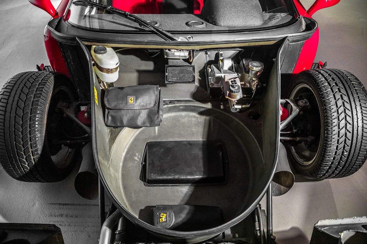 1991 Ferrari F40 Ex Pierluigi Martini SOLD (picture 22 of 24)