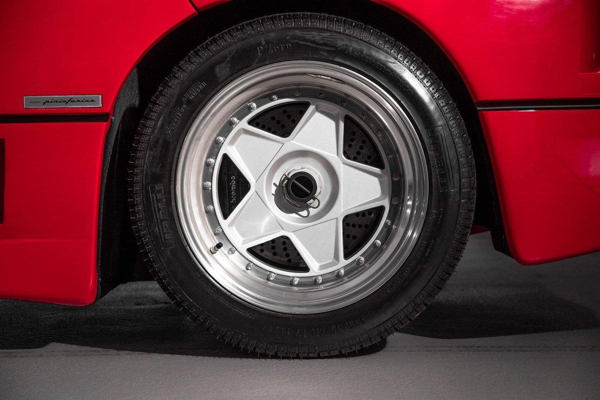1991 Ferrari F40 Ex Pierluigi Martini SOLD (picture 24 of 24)