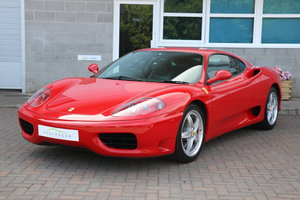 2000 Ferrari 360 Modena Manual For Sale