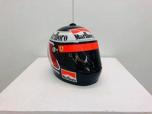 1995 Gerard Berger Original Race Used Helmet For Sale