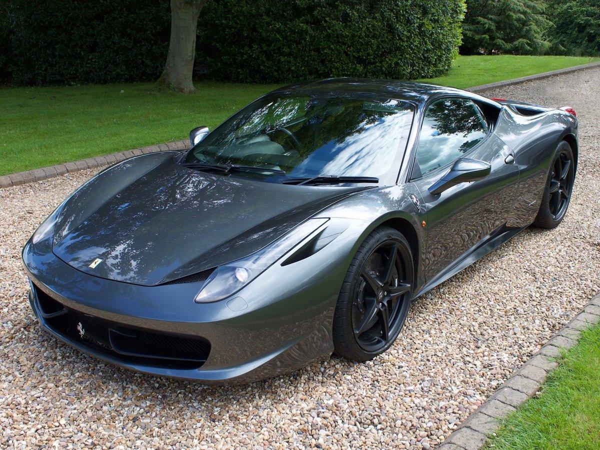 2011 Ferrari 458 Italia with Ferrari warranty For Sale (picture 1 of 6)