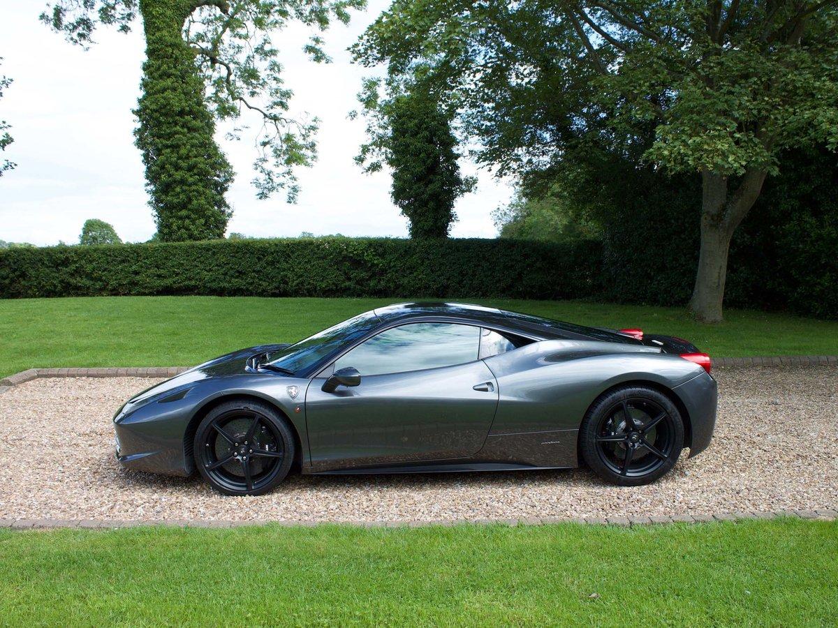 2011 Ferrari 458 Italia with Ferrari warranty For Sale (picture 2 of 6)
