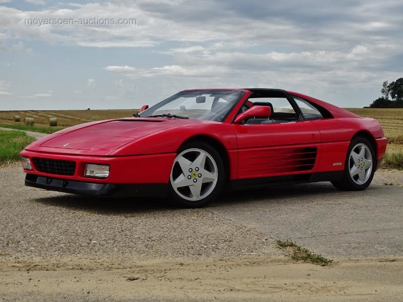 1992 FERRARI 348 TS  For Sale by Auction (picture 1 of 6)