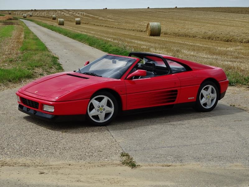 1992 FERRARI 348 TS  For Sale by Auction (picture 2 of 6)